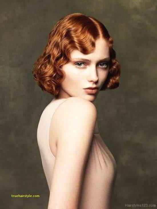 lovely finger wave hairstyle in this year