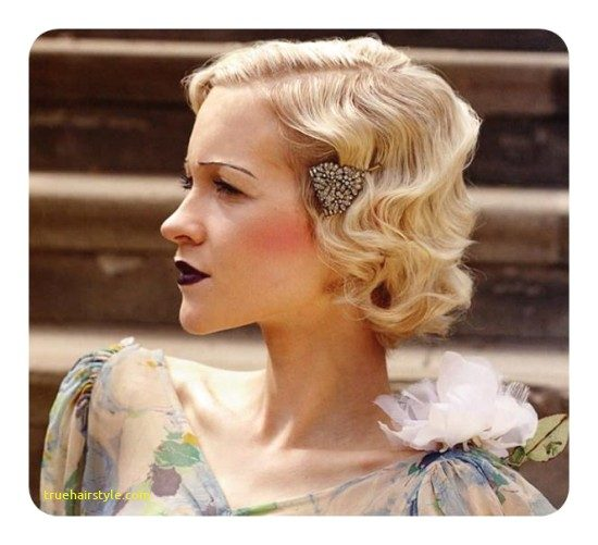 lovely finger wave hairstyle today 1