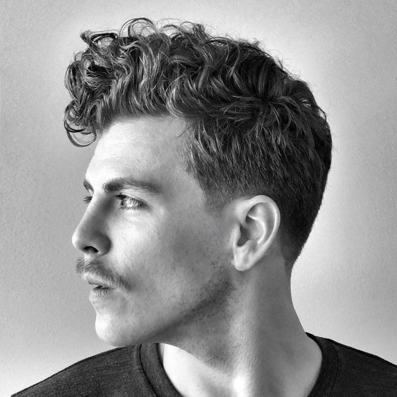 Best Hairstyle for Curly Hair Male