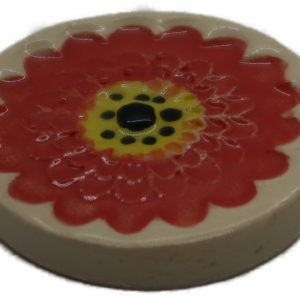 Flower Disc Red
