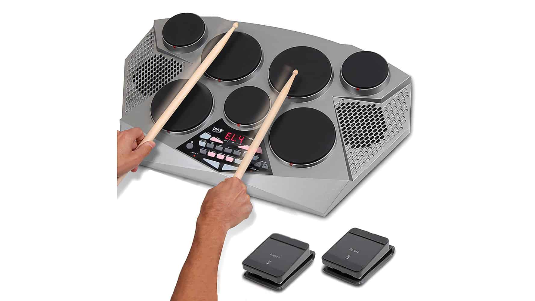 Pyle Pro PTED06 Electronic Drum Kit