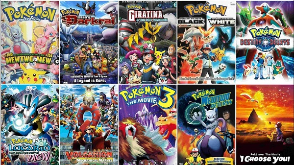 All Pokemon Movies in Hindi Dubbed Download [480P/720P]