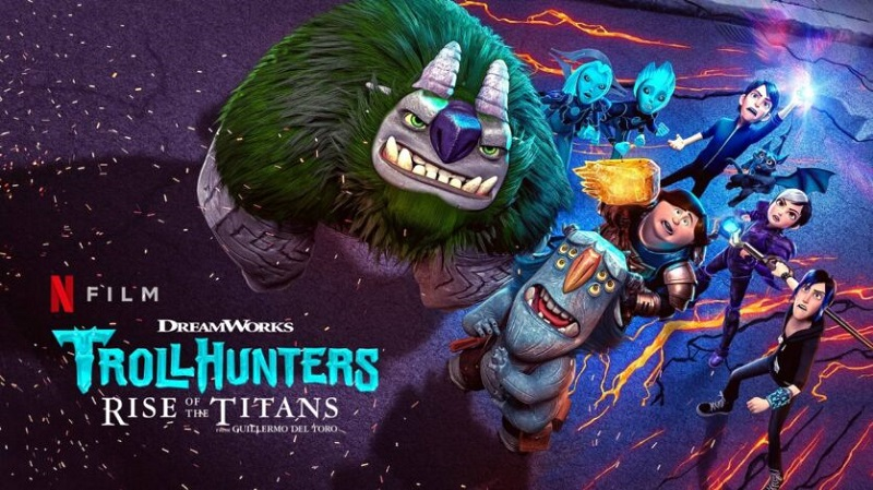 Trollhunters: Rise of the Titans (2021) Full Movie Hindi Dubbed Download