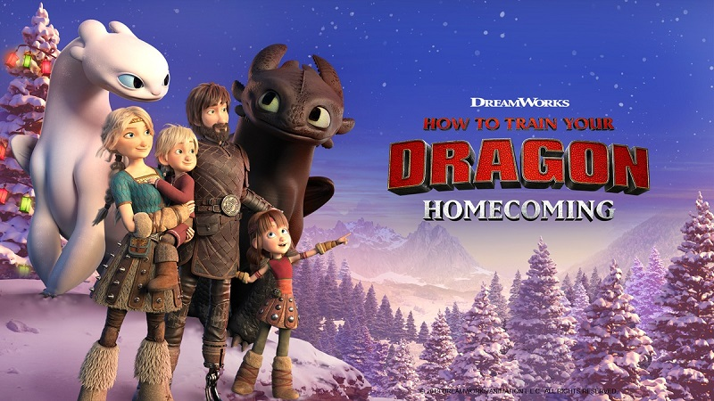 How to Train Your Dragon: Homecoming (2019) Movie Hindi Dubbed Download