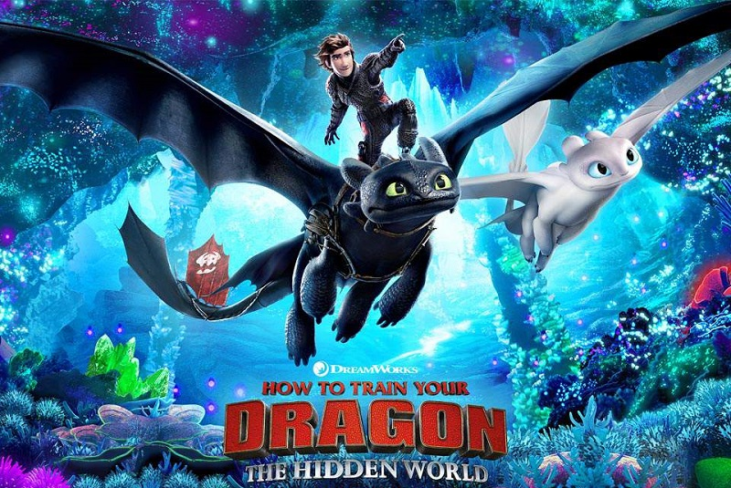 How to Train Your Dragon: The Hidden World (2019) Movie Hindi Dubbed Download