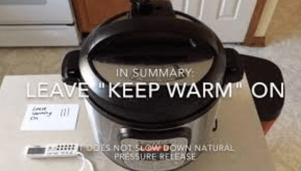 Can You Leave an Instant POT on to Keep Warm Overnight? 2