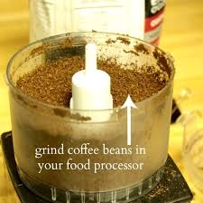 Can you grind Coffee Beans in a Food Processor ? 1