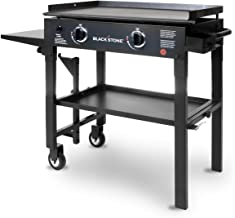 Blackstone 28 inch Outdoor Flat Top Gas Grill Griddle Station - 2-burner - Propane Fueled - Restaurant Grade - Professional Quality