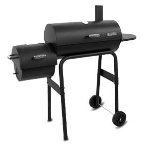Char-Broil American Gourmet Offset Smoker, Deluxe