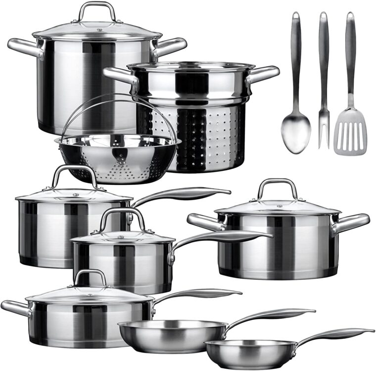 Best Stainless Steel Cookware Without Aluminum 6