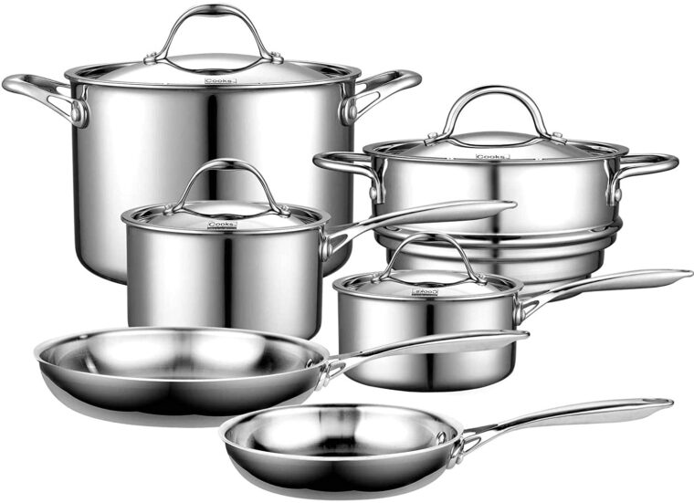 Best Stainless Steel Cookware Without Aluminum 7