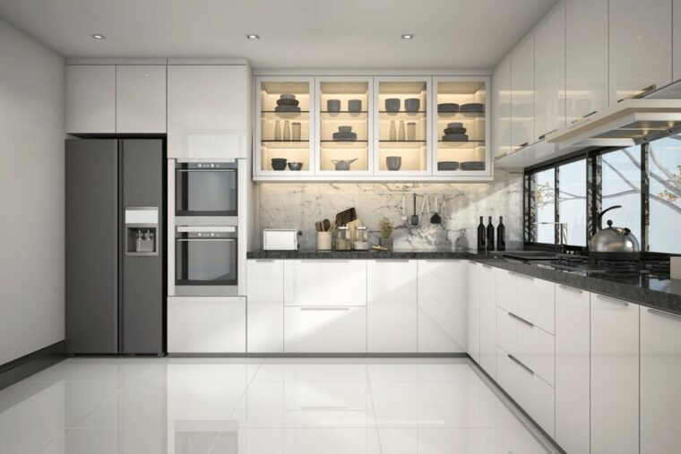 Doors On Kitchen Cabinets, How Much Does It Cost To Put New Kitchen Cabinet Doors On