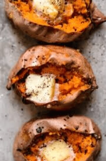The Best Way To Bake A Sweet Potato In The Microwave 3