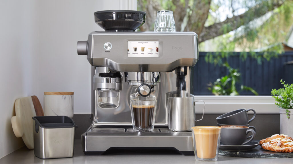 bean-to-cup coffee maker