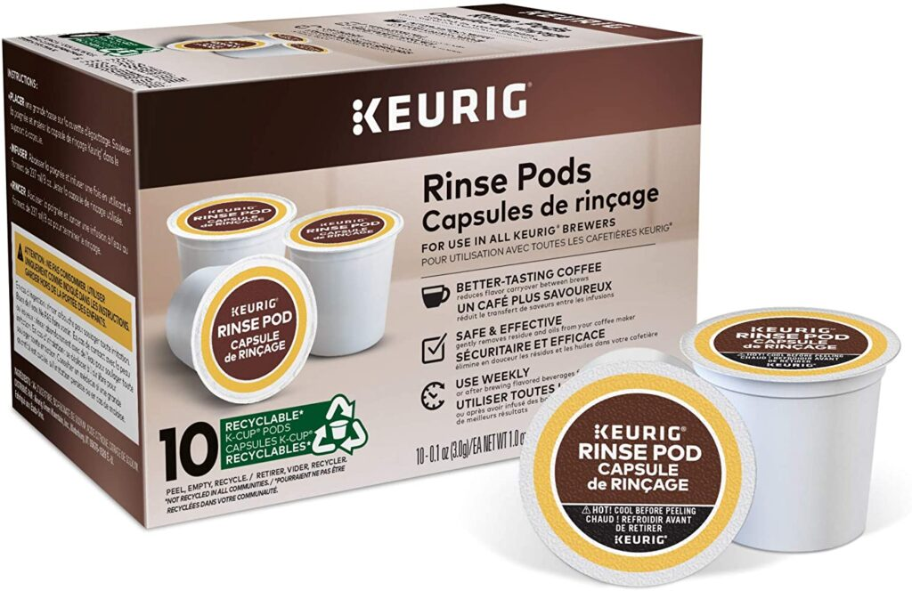 Keurig Pods Reduces Flavor Carry Over