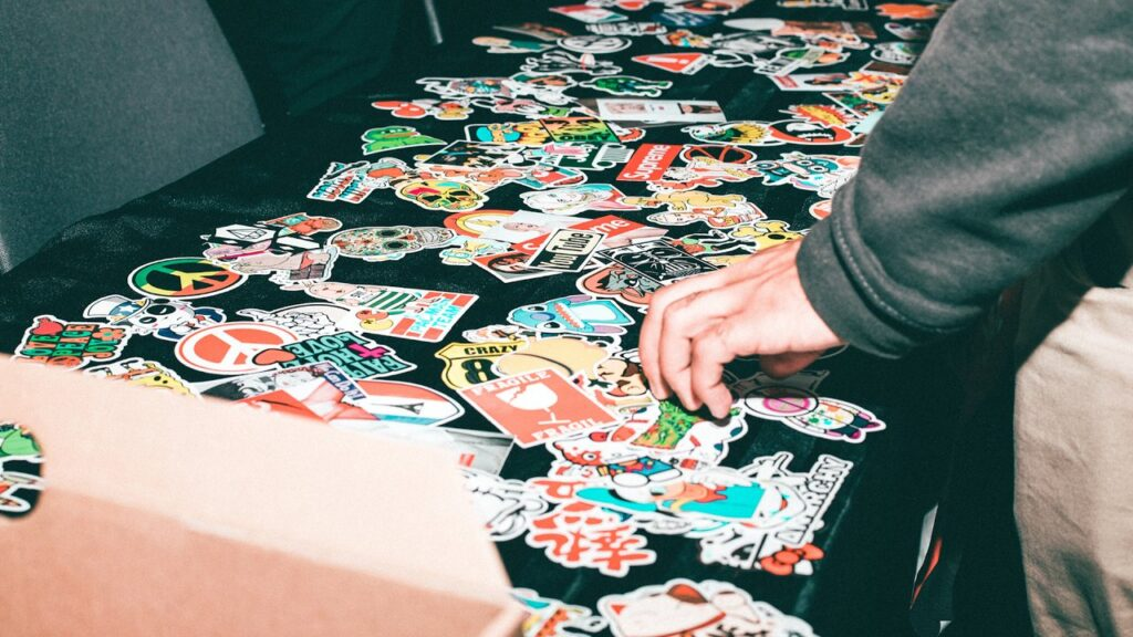 6 Tips For Using Custom Die Cut Stickers For Business Marketing 1