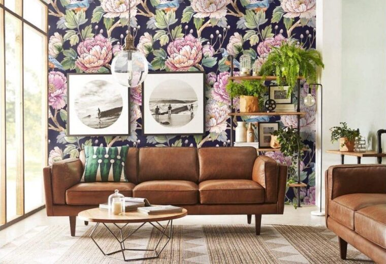 6 Ways To Decorate Your Room With Floral Wallpapers - 2021 Guide 5