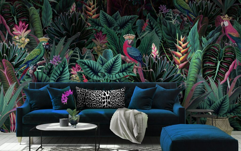6 Ways To Decorate Your Room With Floral Wallpapers - 2021 Guide 4