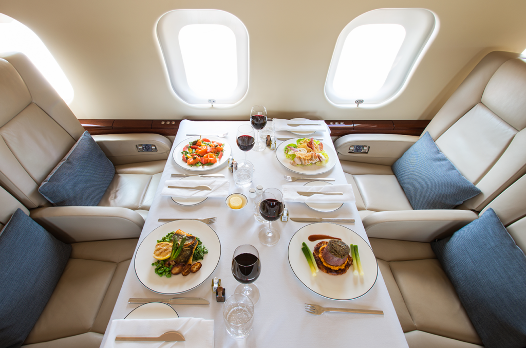 4 Things To Know About Catering Food On Private Flights 3