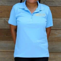 Womens Blue Exclusive Polo For Sale - Underground Reptiles
