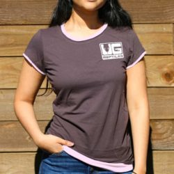 Women's Chocolate And Pink Underground T-shirts for sale - Underground Reptiles