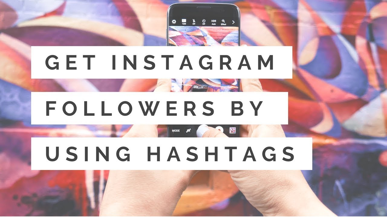 Teachable Video on How to Get Instagram Followers by Using Hashtags -  University Webinars
