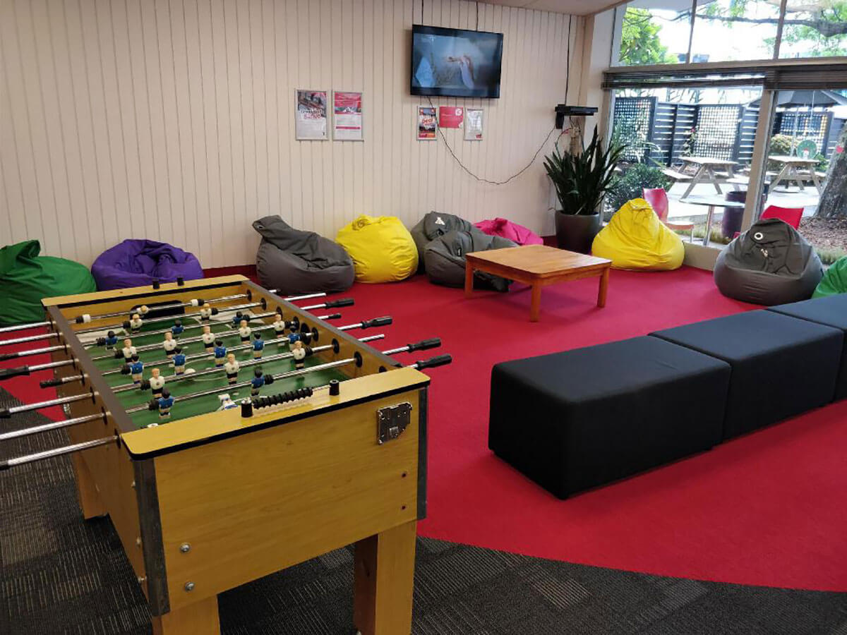 One of the best hostels in New Zealand, YMCA Hostel Auckland, New Zealand