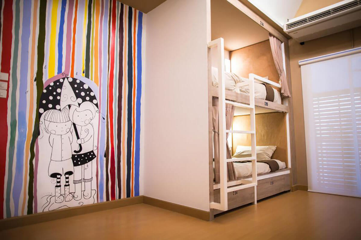 Stay with Hug Hostel, Chiang Mai, Thailand
