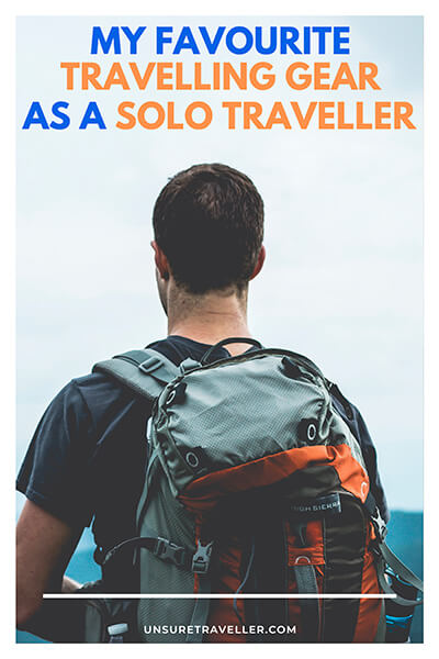 My favourite travelling gear as a solo traveller