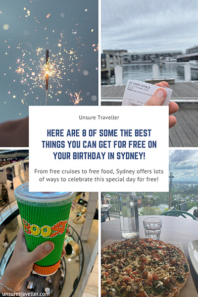 8 of some of the best things you can get for free in Sydney on your birthday