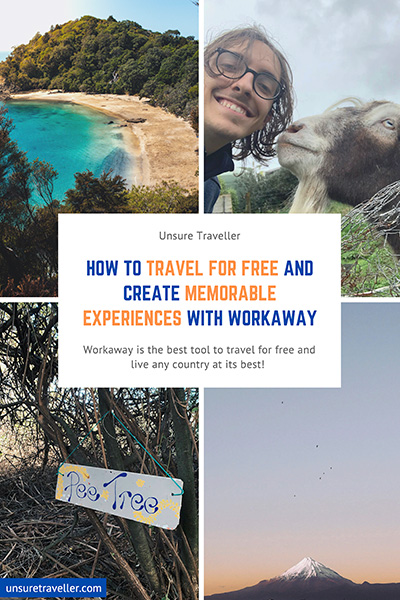 Travel for free with Workaway