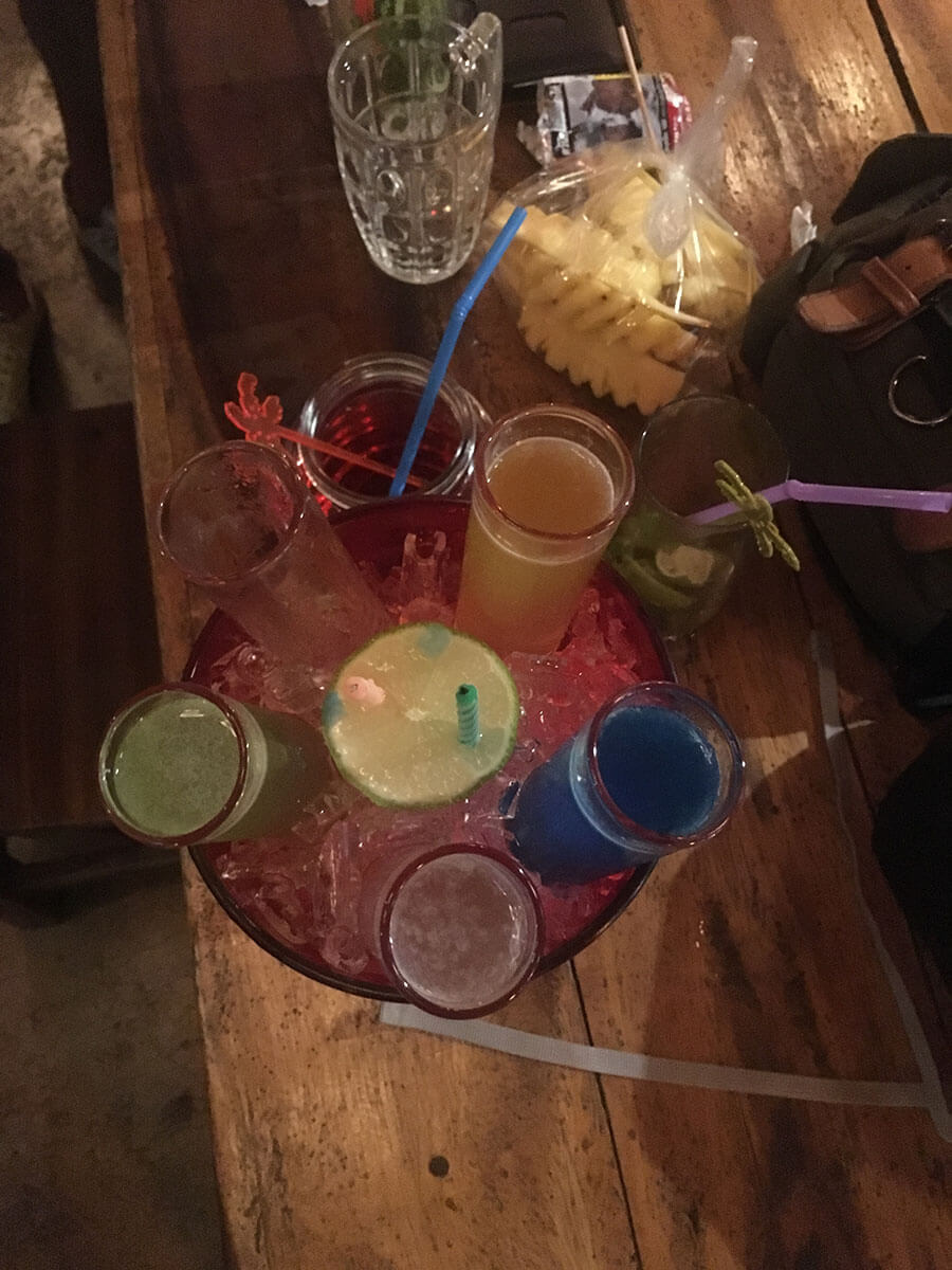 How I celebrated my 23rd birthday in Thailand - the famous 6 colourful drinks