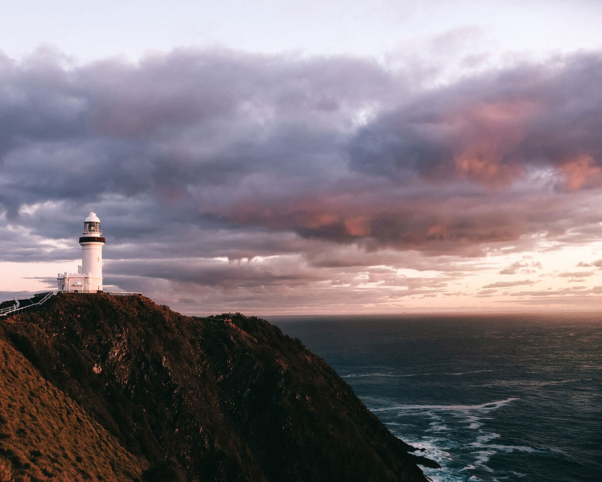 Best things to do in Byron Bay- watching the sunrise from the lighthouse