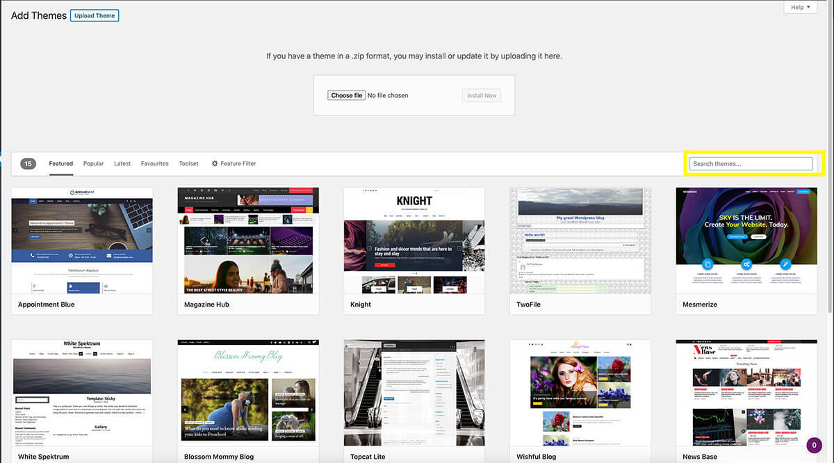 how-to-start-a-blog-how-to-install-wordpress-free-theme