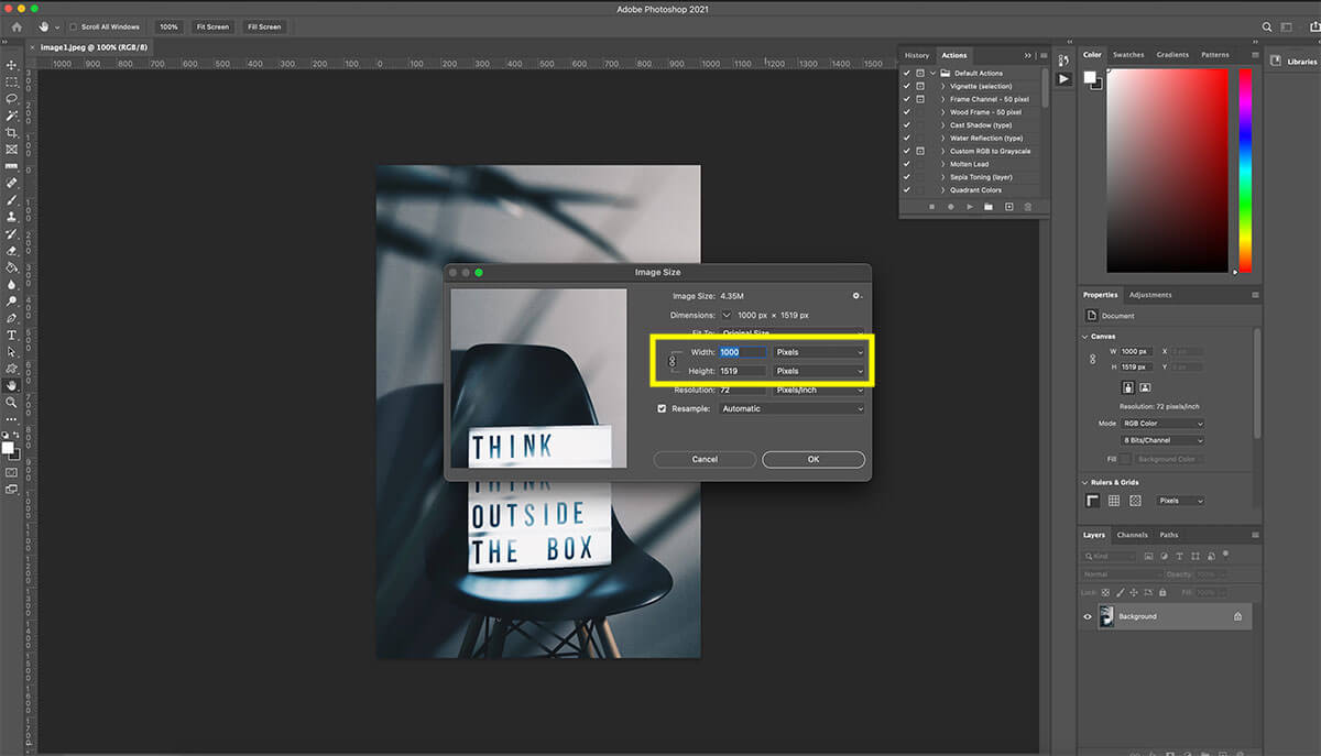 how-to-start-a-blog-how-to-resize-photo-with-photoshop