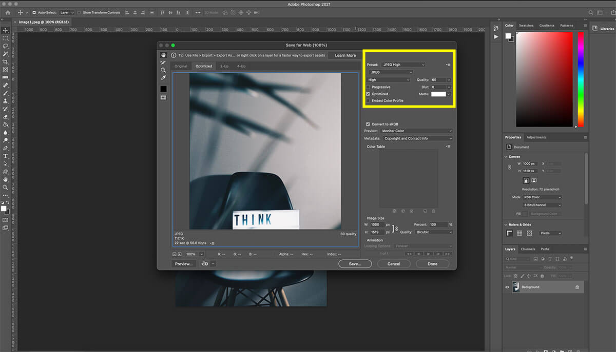 how-to-start-a-blog-how-to-save-photo-for-web-photoshop