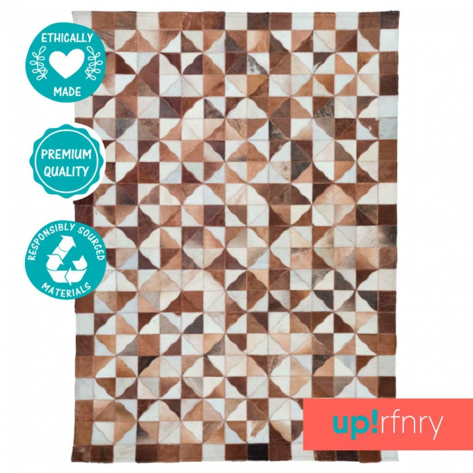 Contrasting Area Rug