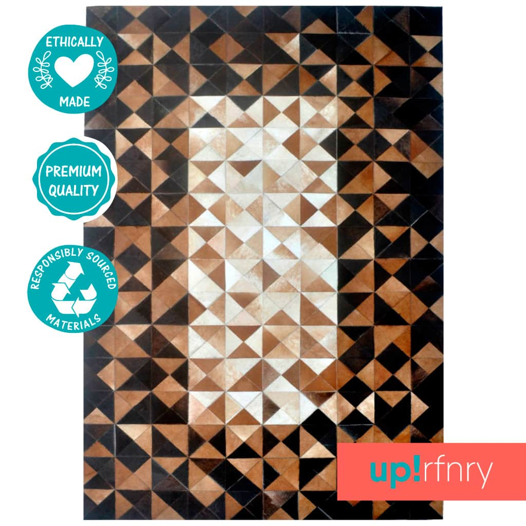 Triangle Pattern Area Rug