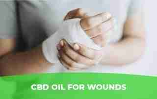 CBD oil for wounds