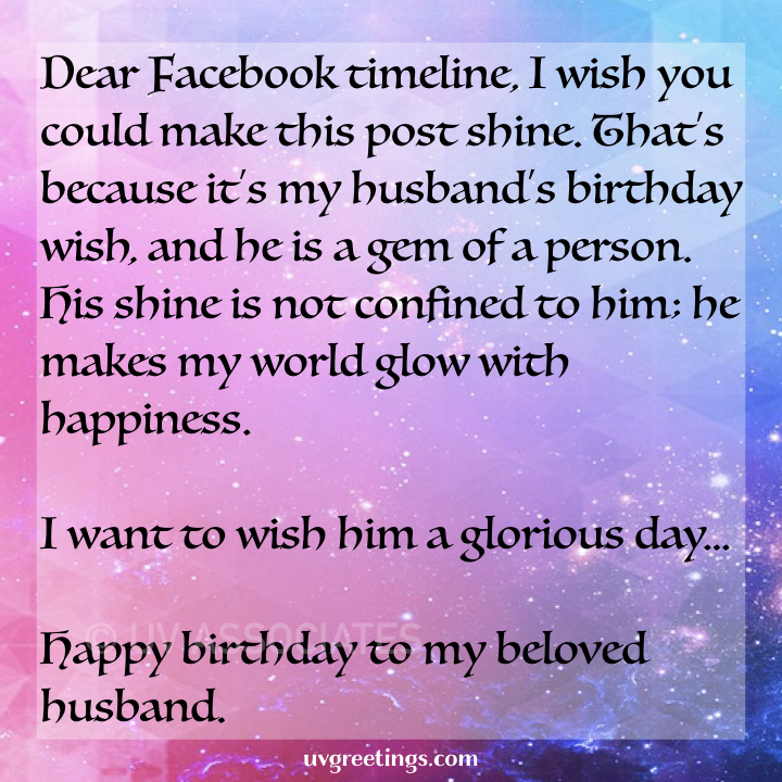 151 Birthday Wishes For Husband Poems Messages And Quotes Uvgreetings