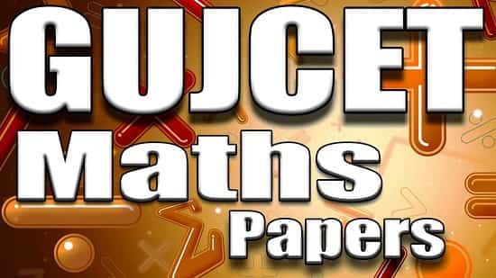 Gujcet Papers Gujarati Medium, Gujcet papers download in Gujarati, last 10 year gujcet papers in gujarati