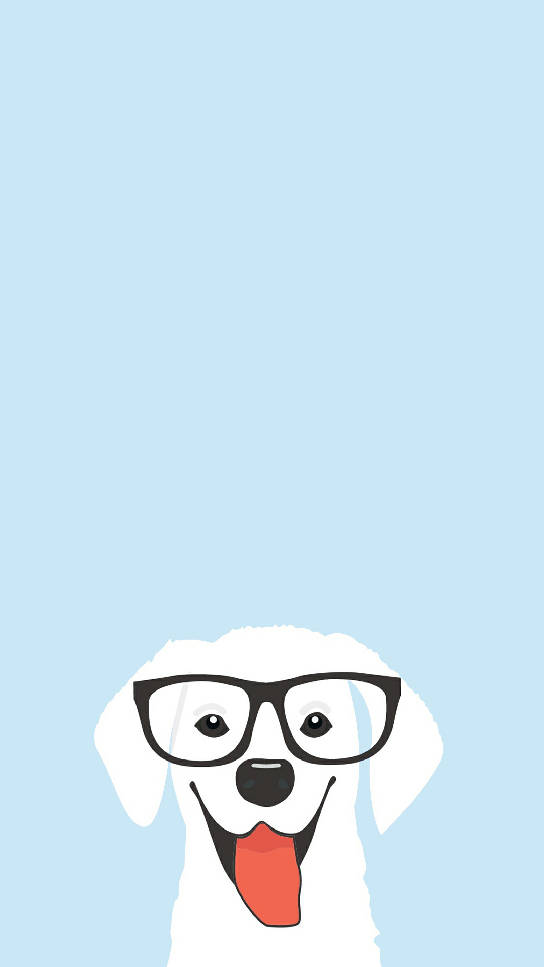 Iphone 6 Cute Dog Cartoon Wallpaper