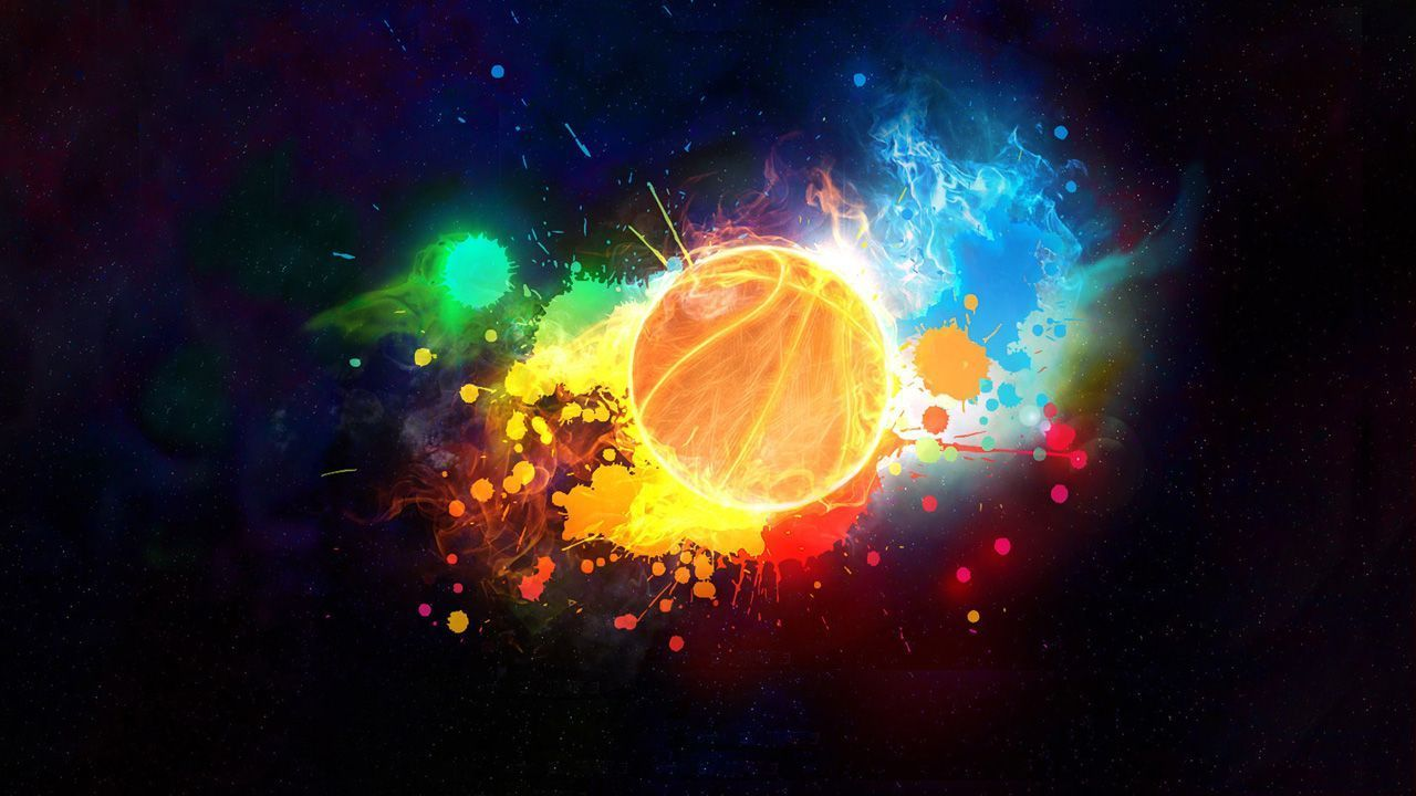 Galaxy Cool Basketball Wallpapers
