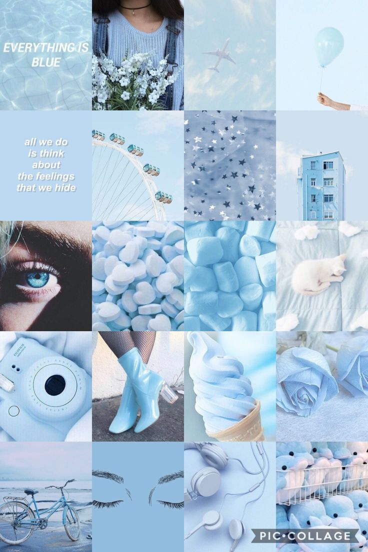 Pastel Blue Aesthetic Tumblr Wallpaper