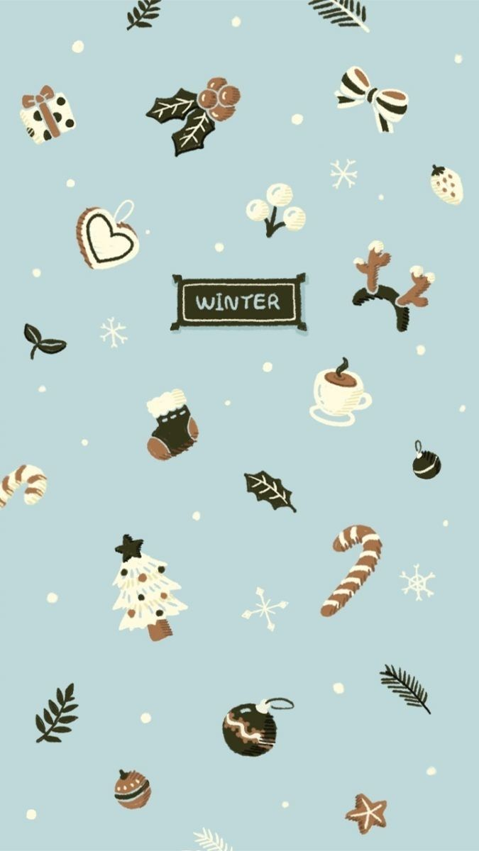 Wallpaper Iphone Cute Winter