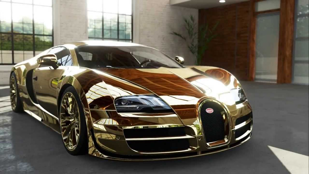 Gold Wallpaper Cool Bugatti