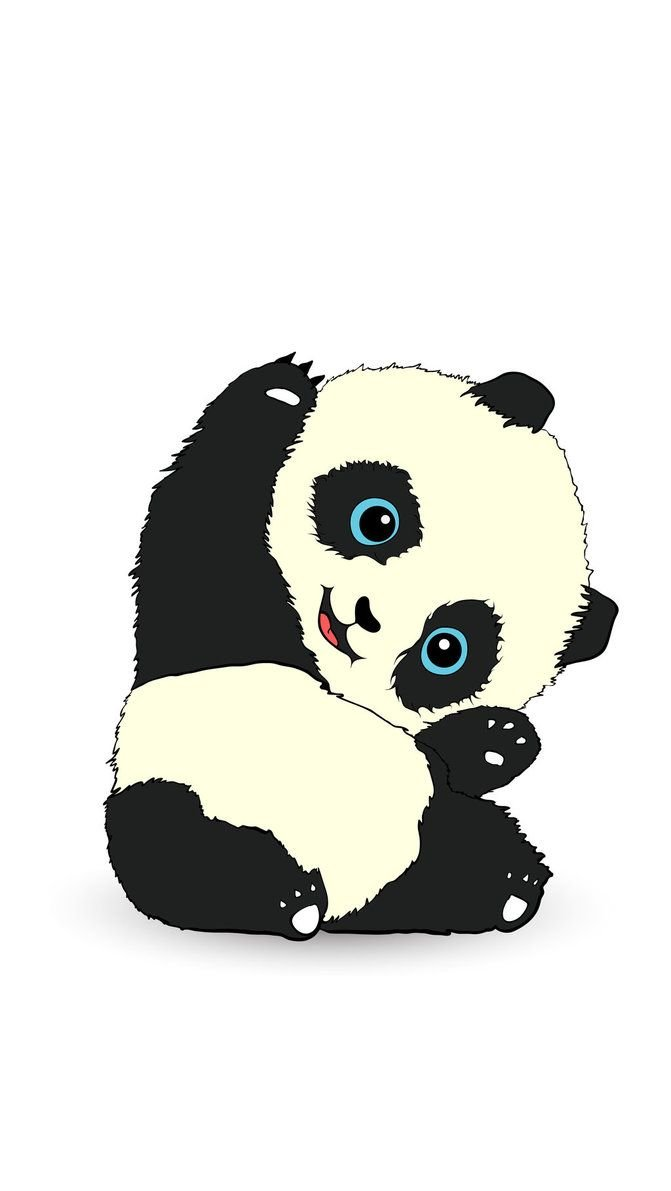 Panda Cartoon Wallpaper Hp Lucu