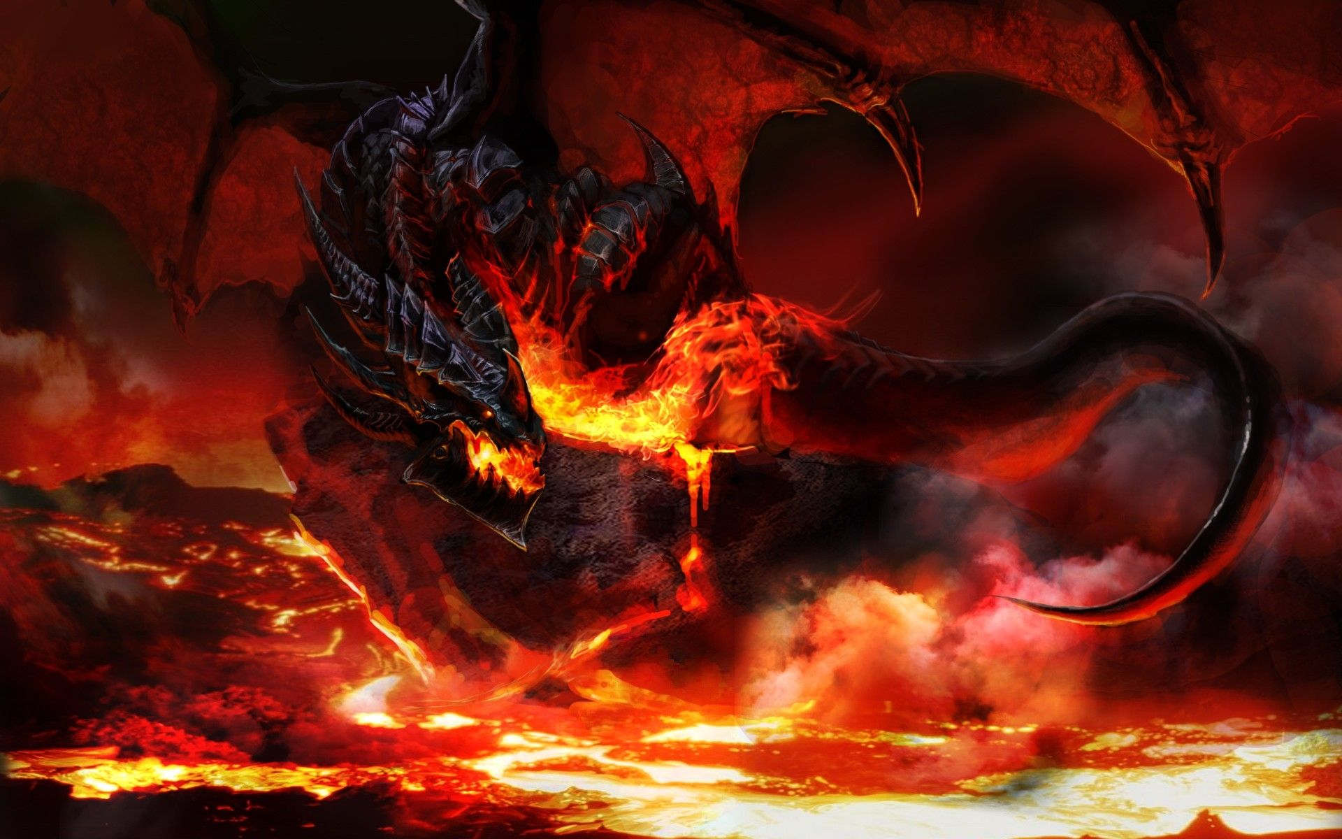 Cool Backgrounds Of Dragons