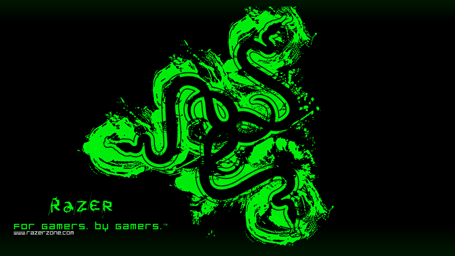 Green Gaming Wallpaper Hd