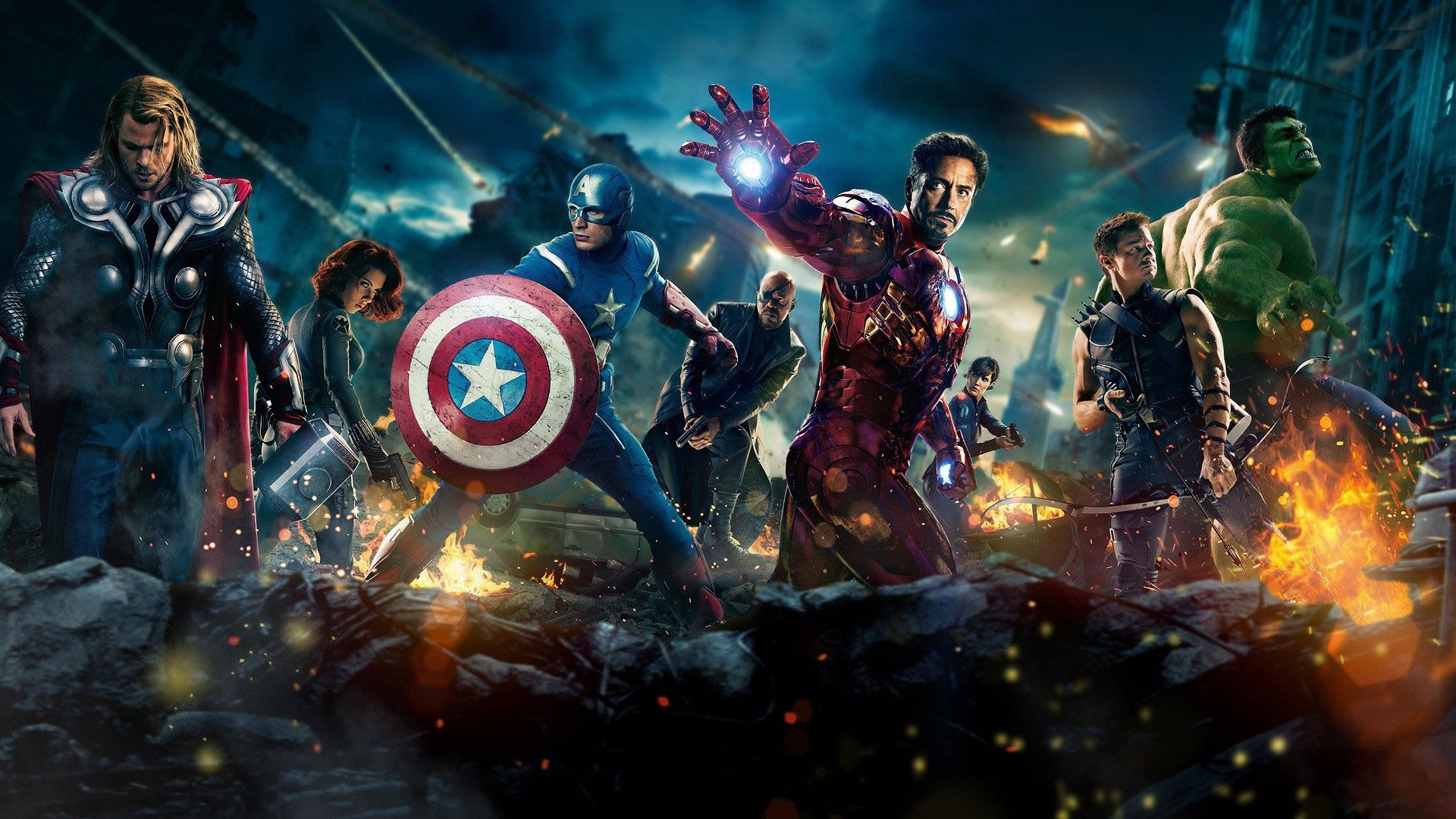 Desktop Avengers Laptop Wallpaper Hd
